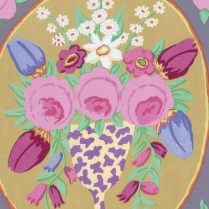 Cameo Grey PANEL Kaffe Fassett