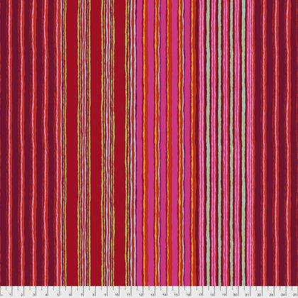 Red Regimental Stripe PWGP163.REDXX Kaffe Fassett Fall 2017