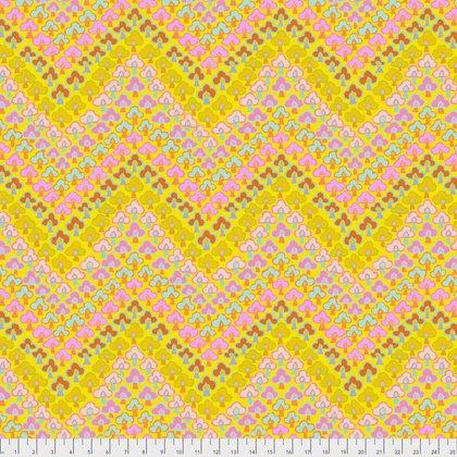 Yellow Trefoil PWGP167.YELLO Kaffe Fassett Fall 2017
