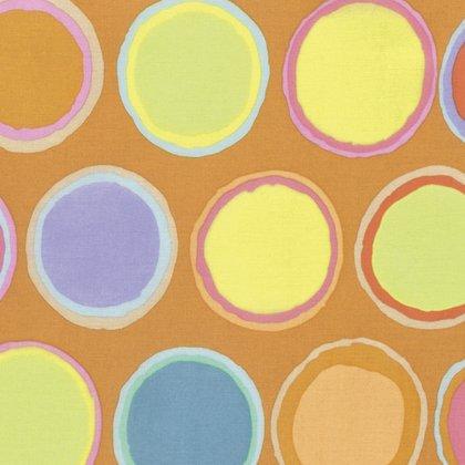Kaffe Fassett Artisan Paint Pots Yellow print