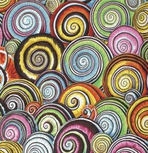 Spiral Shells Multi Philip Jacobs Kaffe Fassett Collective