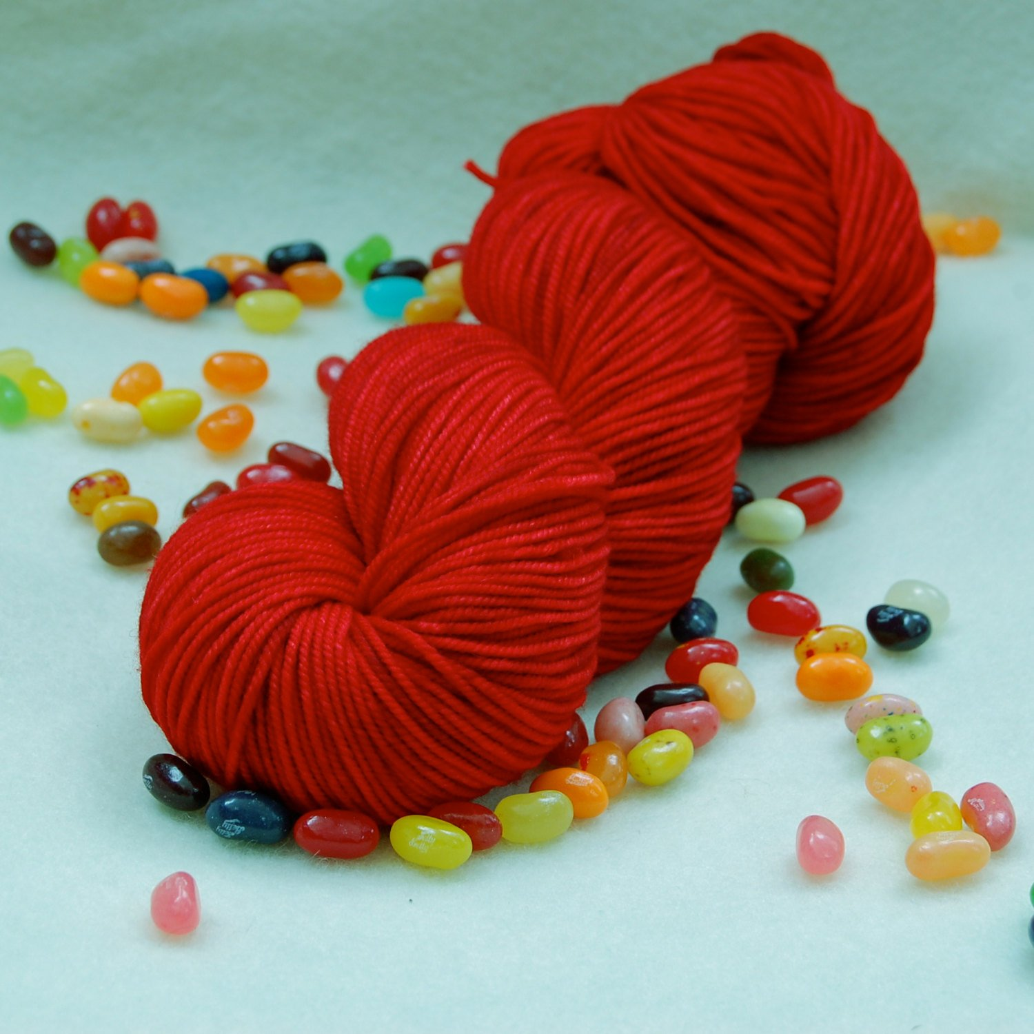 Red Victory Sock by Knitted Wit