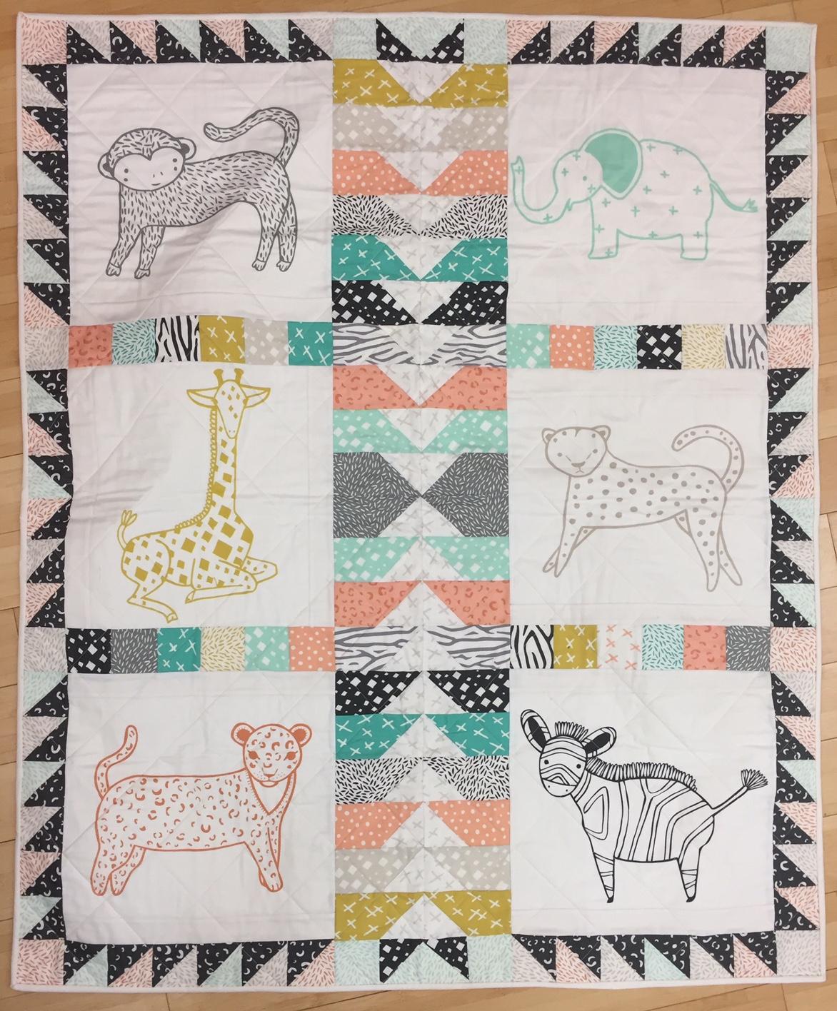 Savannah Cozy Quilt KIT