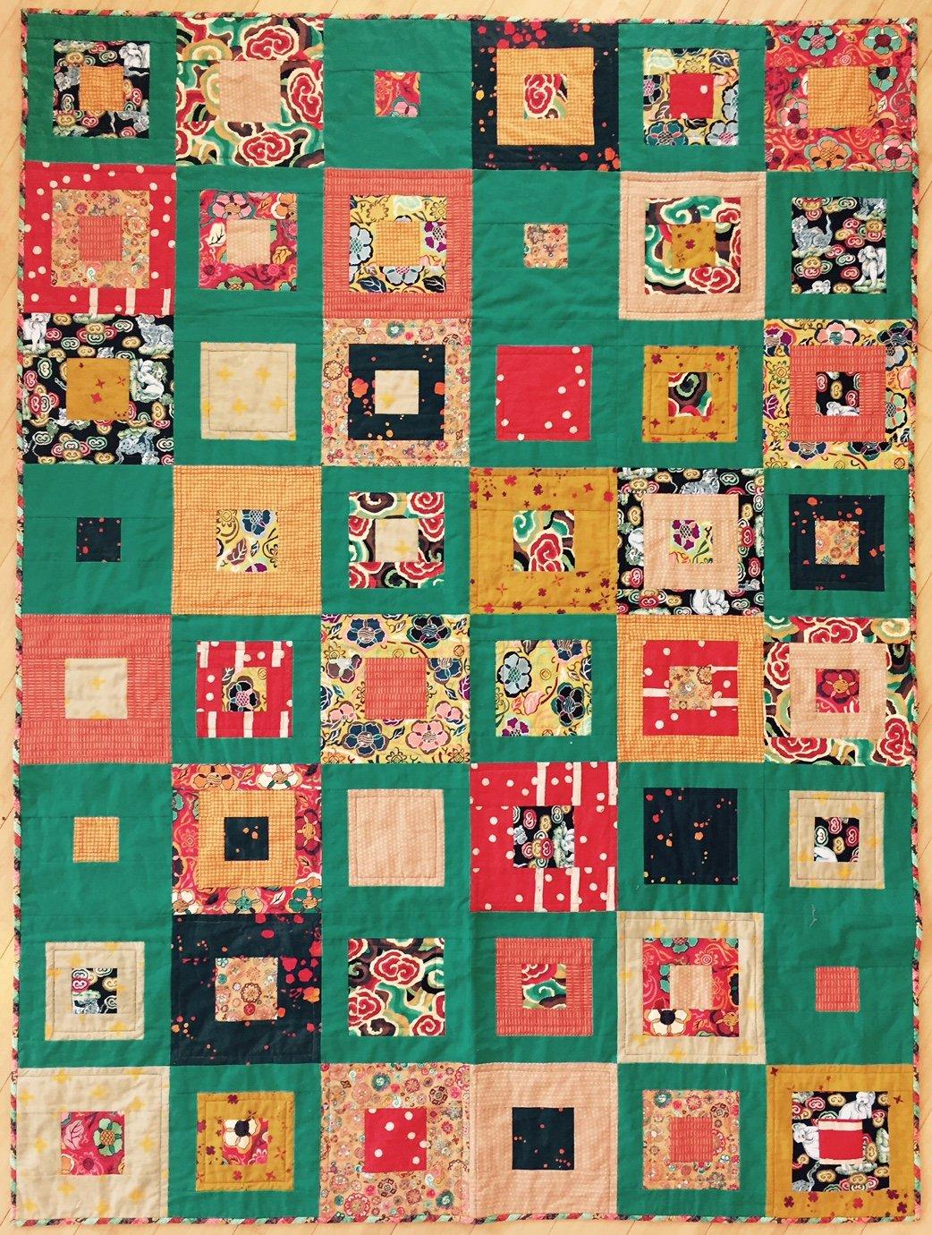 Skipping Squares kit (51x68)