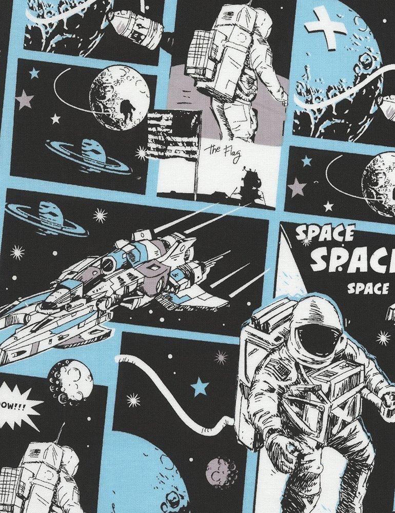 Astronaut Comic Adventure Space-C4844