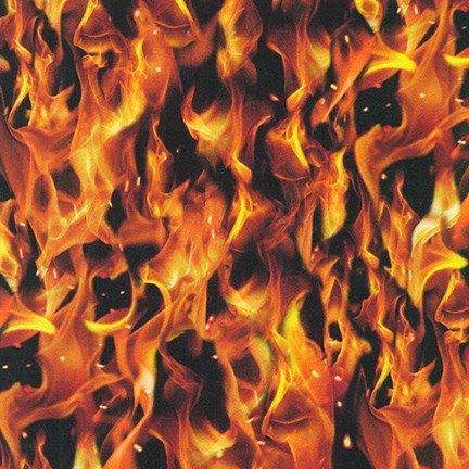 Flame SRKD-19215-101 Blaze by Robert Kaufman Fabrics