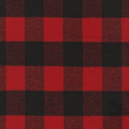 Red and Black Mammoth Flannel SRKF-14876-3