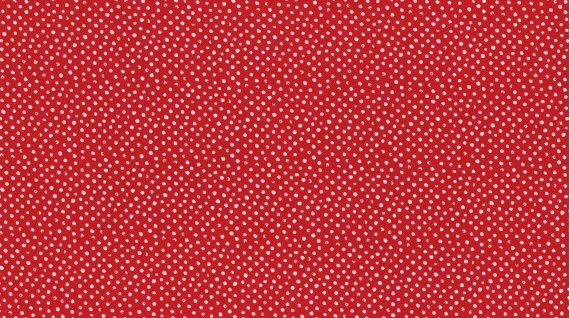 Mini Confetti Dot in Scarlet