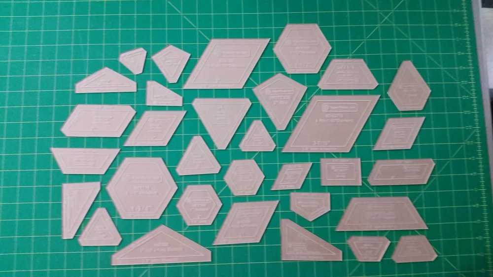 The New Hexagon Templates -- PREORDER