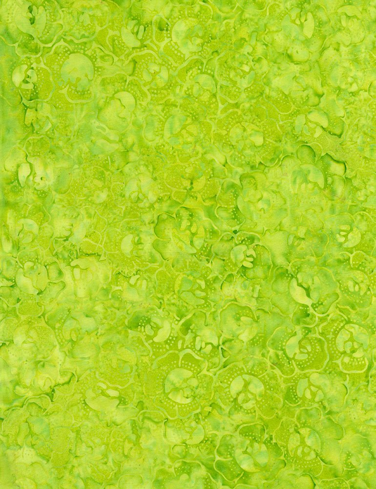 Lime Cabbage Patch Batik Tonga-B4437-Lime Tonga Zing by Timeless Treasures