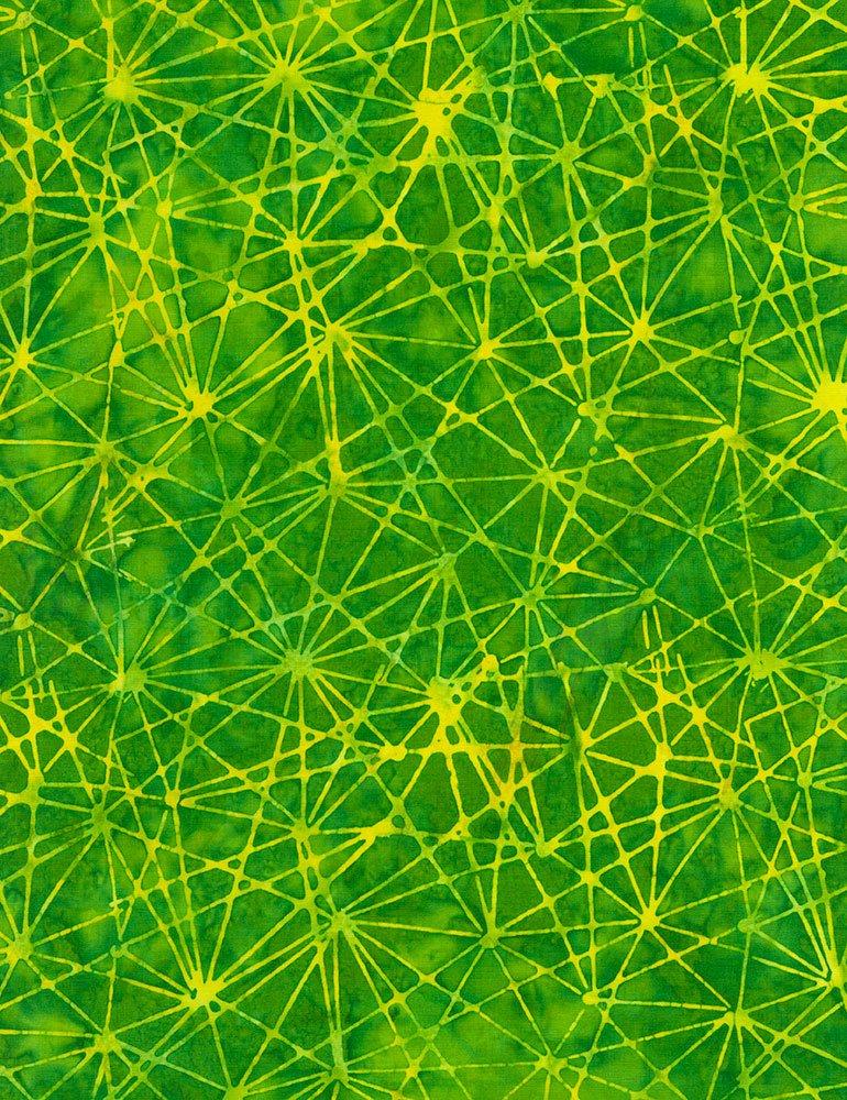 Green Splatter Batik Tonga-B5942-Green Tonga Zing by Timeless Treasures