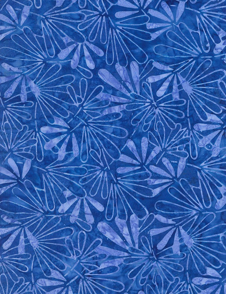 Blue Tiki Batik Tonga-B6202-Blue Tonga Zing by Timeless Treasures