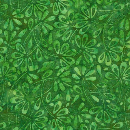 Parrot Flowerfield Batik TONGA-B6746-PARROT Dazzle by Timeless Treasures
