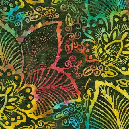 Jungle Island Batik TONGA-B7119-JUNGLE Dazzle by Timeless Treasur