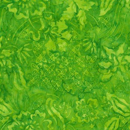 Apple Nature Walk Batik TONGA-B7128-APPLE Dazzle by Timeless Treasures