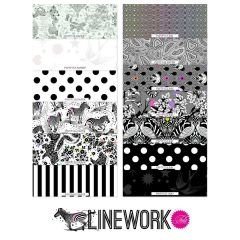 Linework 10 Charms FB610TP.LINEWORK  by Tula Pink - Preorder