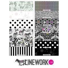 Linework Precut Hexagons FB6HXTP.LINEWORK by Tula Pink - Preorder