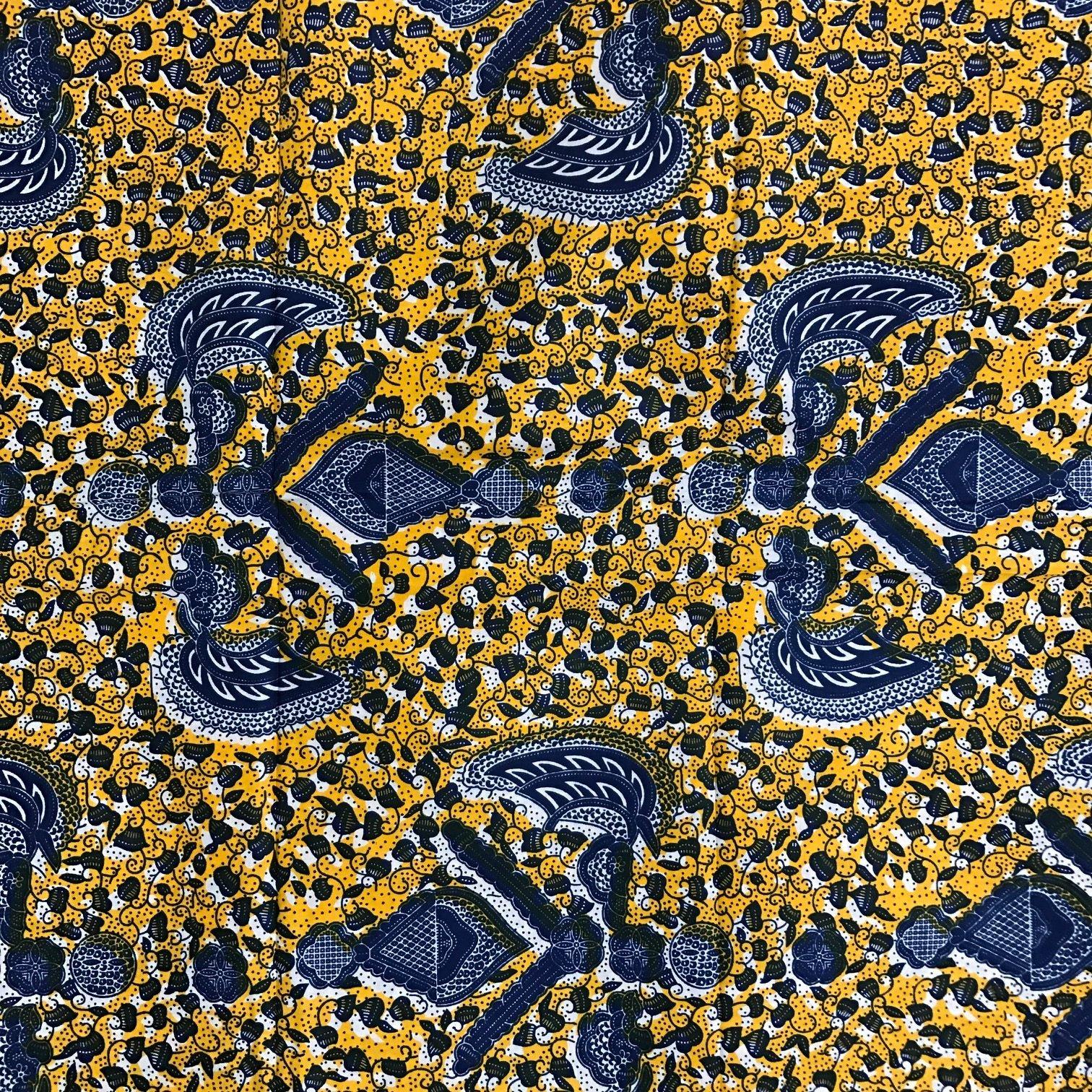 W87 wax print Yara African Fabrics