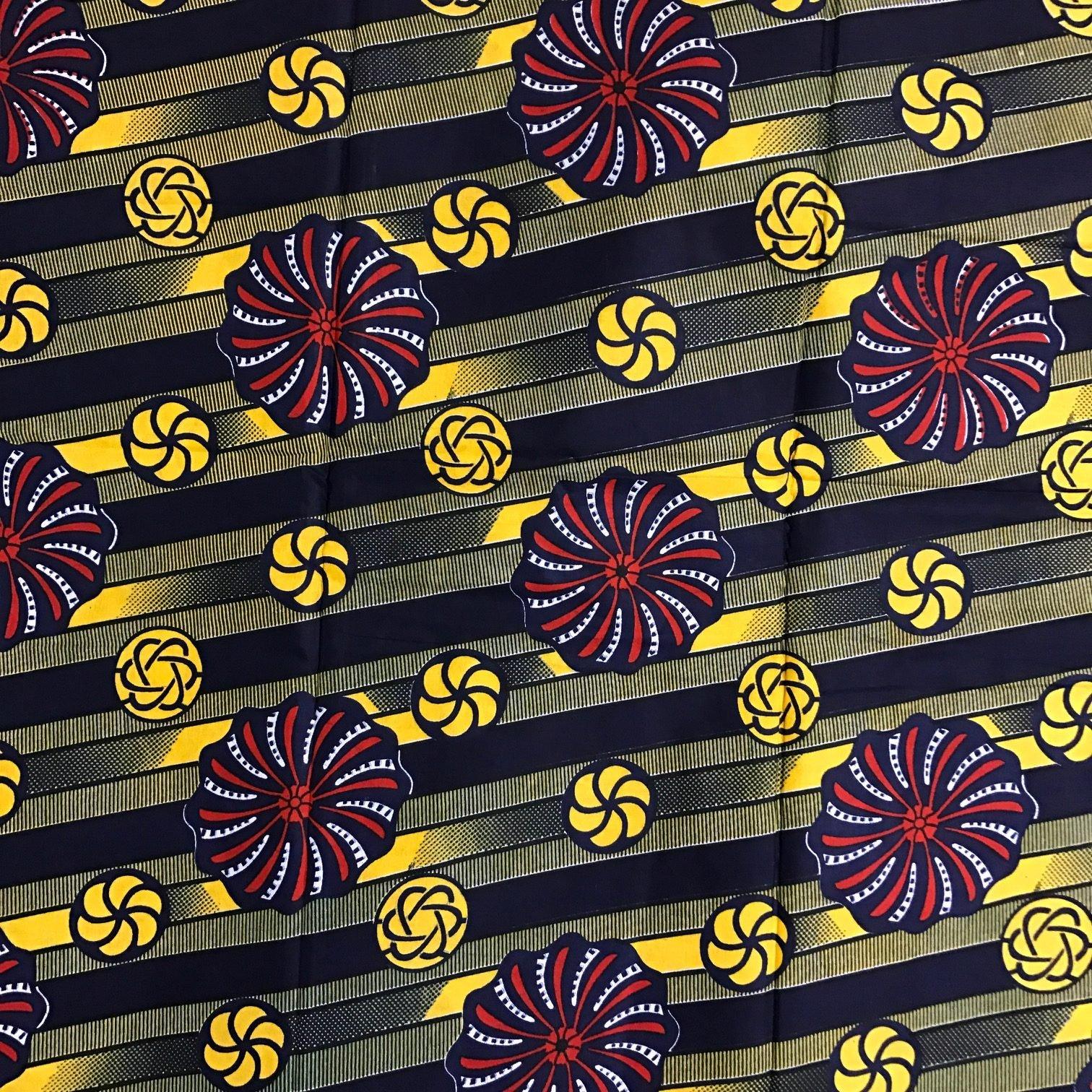 W89 African wax print Yara African Fabrics