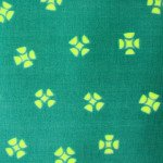 Whirligig Green double gauze