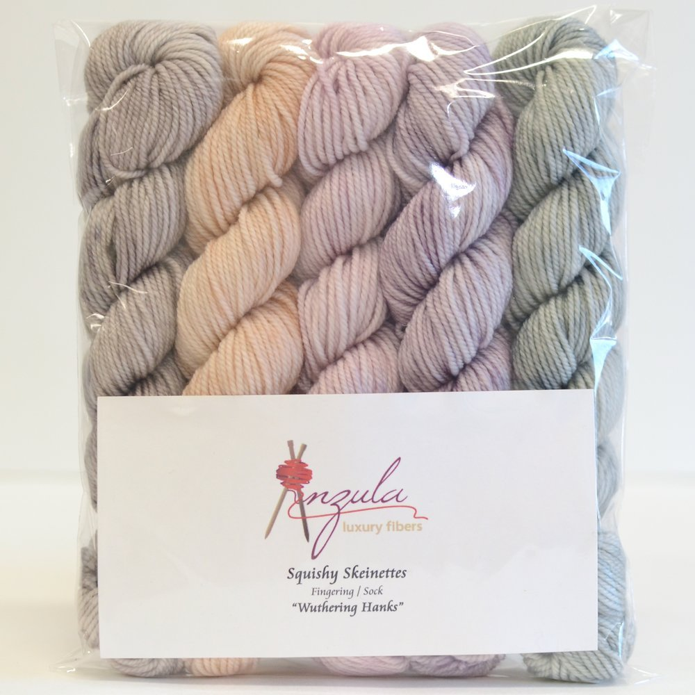 Wuthering Hanks Squishy Skeinettes by Anzula Fingering/Sock Weight