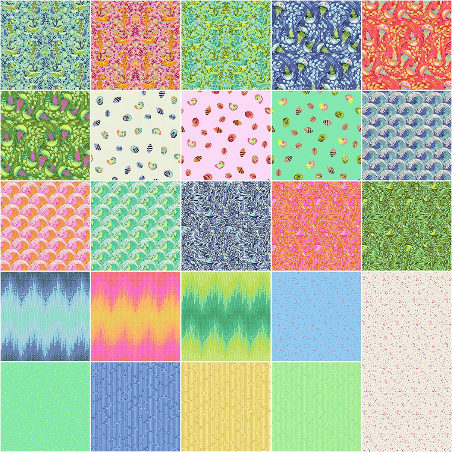 Zuma 24 1/2 yard bundle Tula Pink