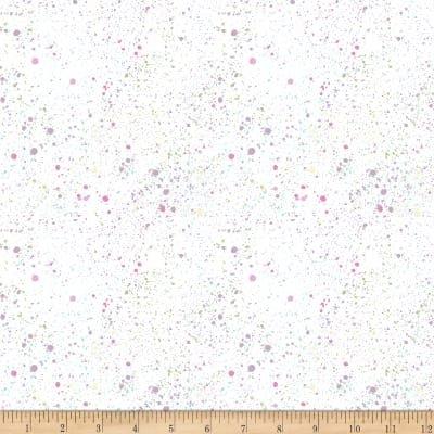 Hoppy Easter B-9427-01 (Colored Specks on White)