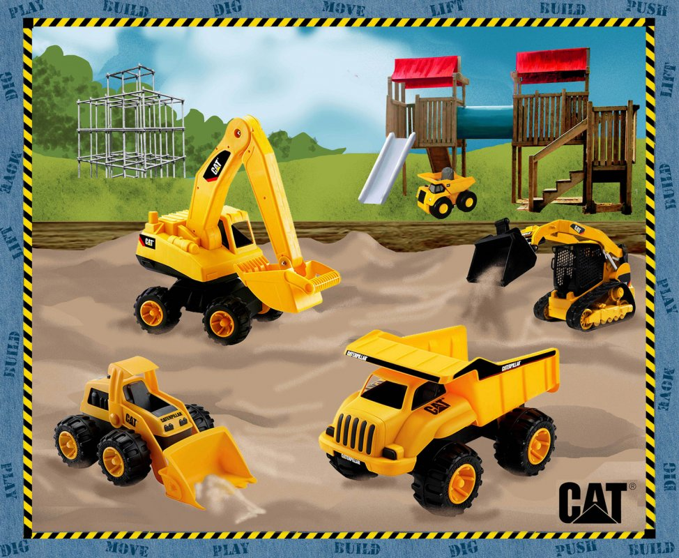 CAT Nursery Playground Panel