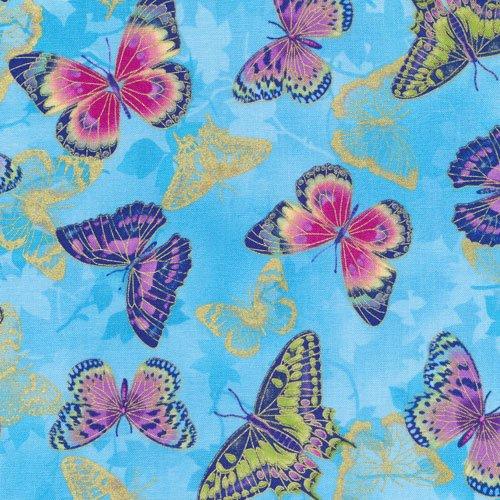 Flights of Fancy 120-13381 Butterfly Blue