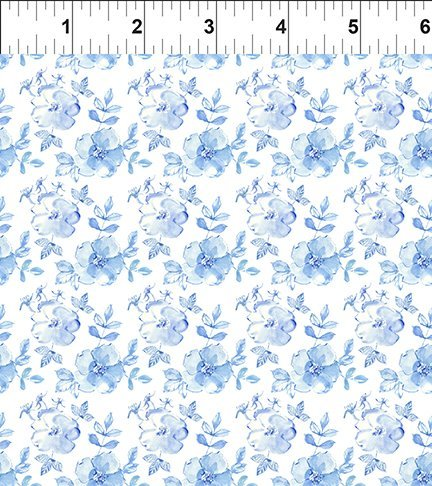 The Leah Collection 10TLC1 Small Tonal Floral