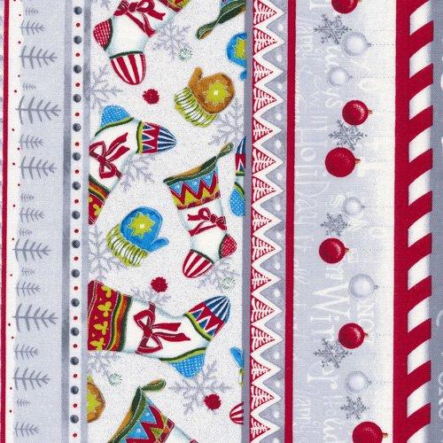 A Snow Family Christmas 120-13961 Christmas Stripe