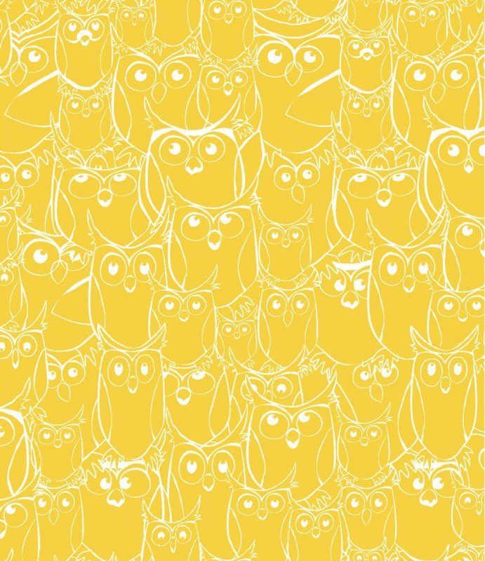 Nite Owls-120-7082 Outlines Yellow
