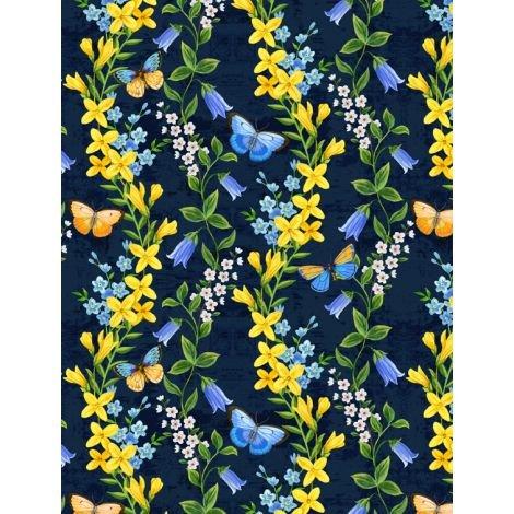 Madison 28132-454 Floral Vine Stripe