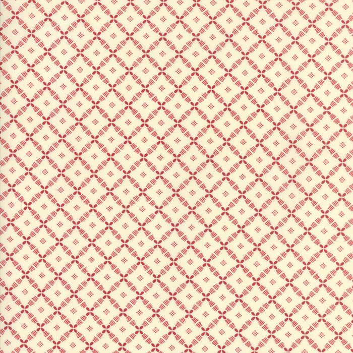 Farmhouse Reds 14857-13 Ivory Red