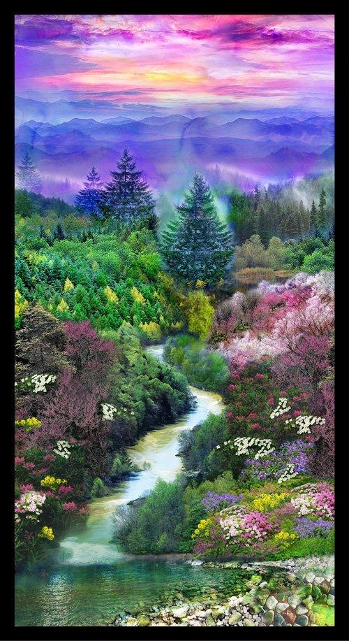 Mountain View 24  Digital Panel 148-14221