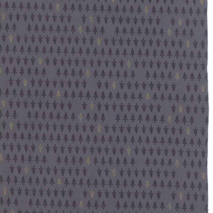 White Christmas Metallic 1655-14M Graphite