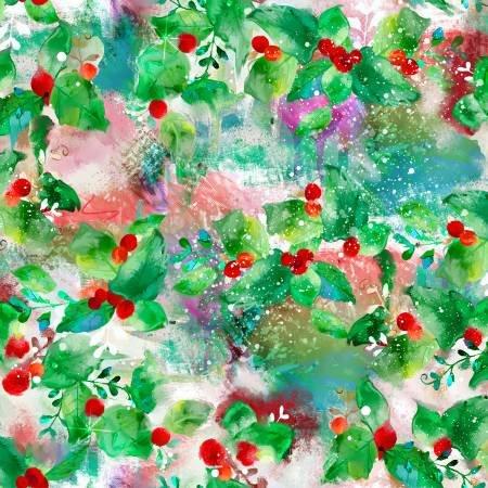Sassy Holiday 16607 Green Holly