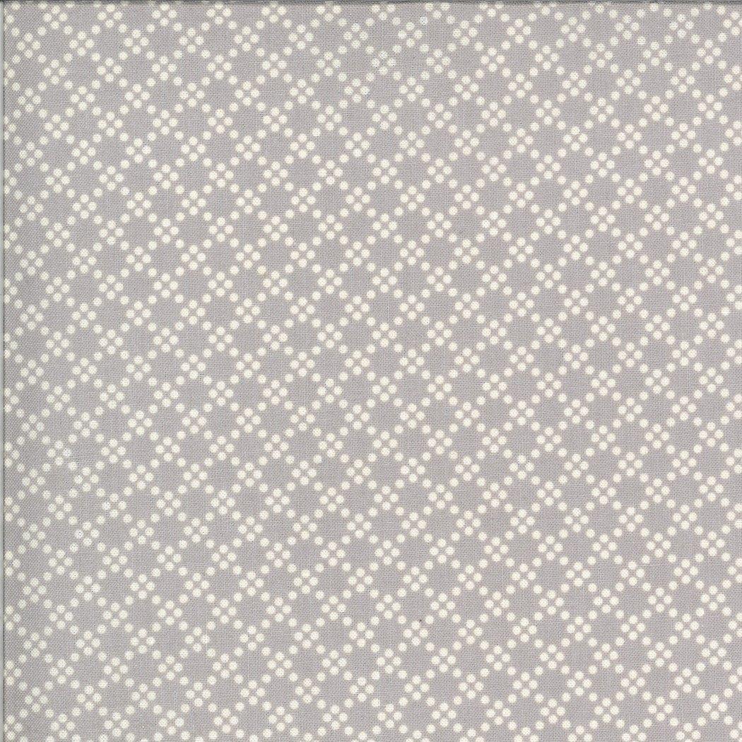 Dover Ticking 18704-13 Tonal Dot Grey