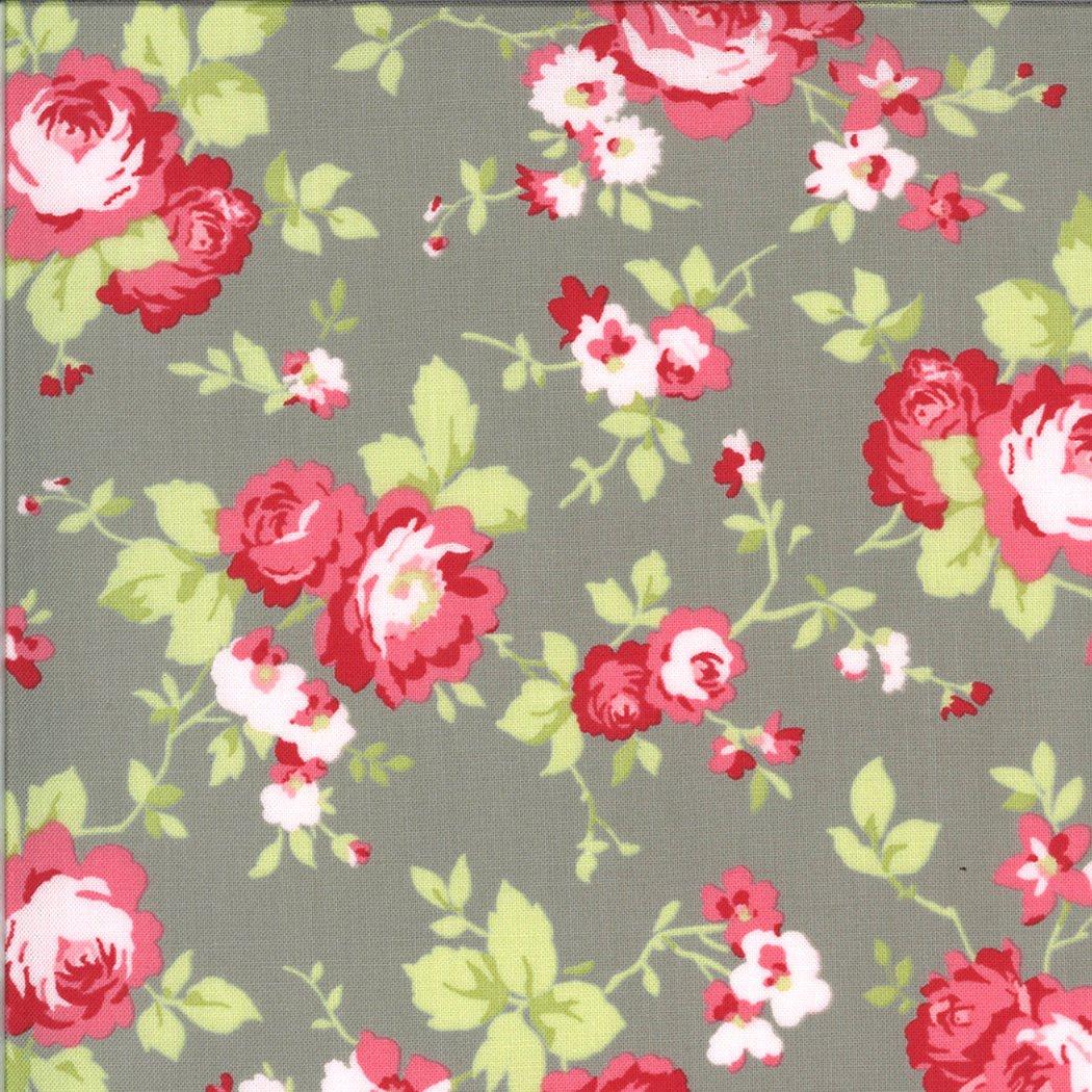 Sophie 18710-12 Main Floral Cobblestone