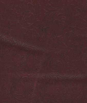 Faux Leather 19628 Burgundy