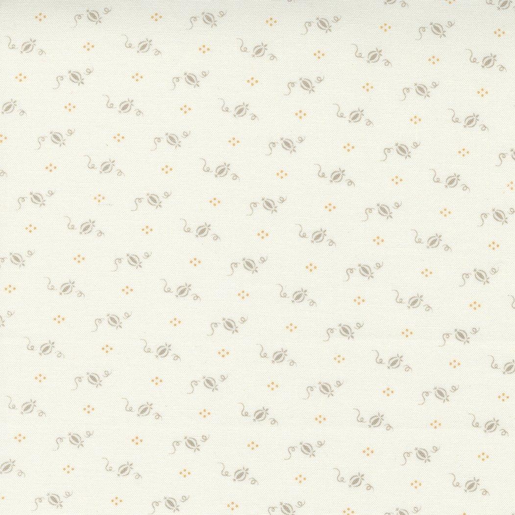 Pumpkins and Blossoms 20427-26 Vanilla Pebble