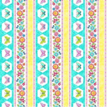 Blossom 21099-63 Turquoise