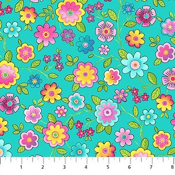 Blossom 21100-63 Turquoise