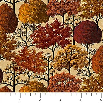 Autumn Village 22385-12 Beige