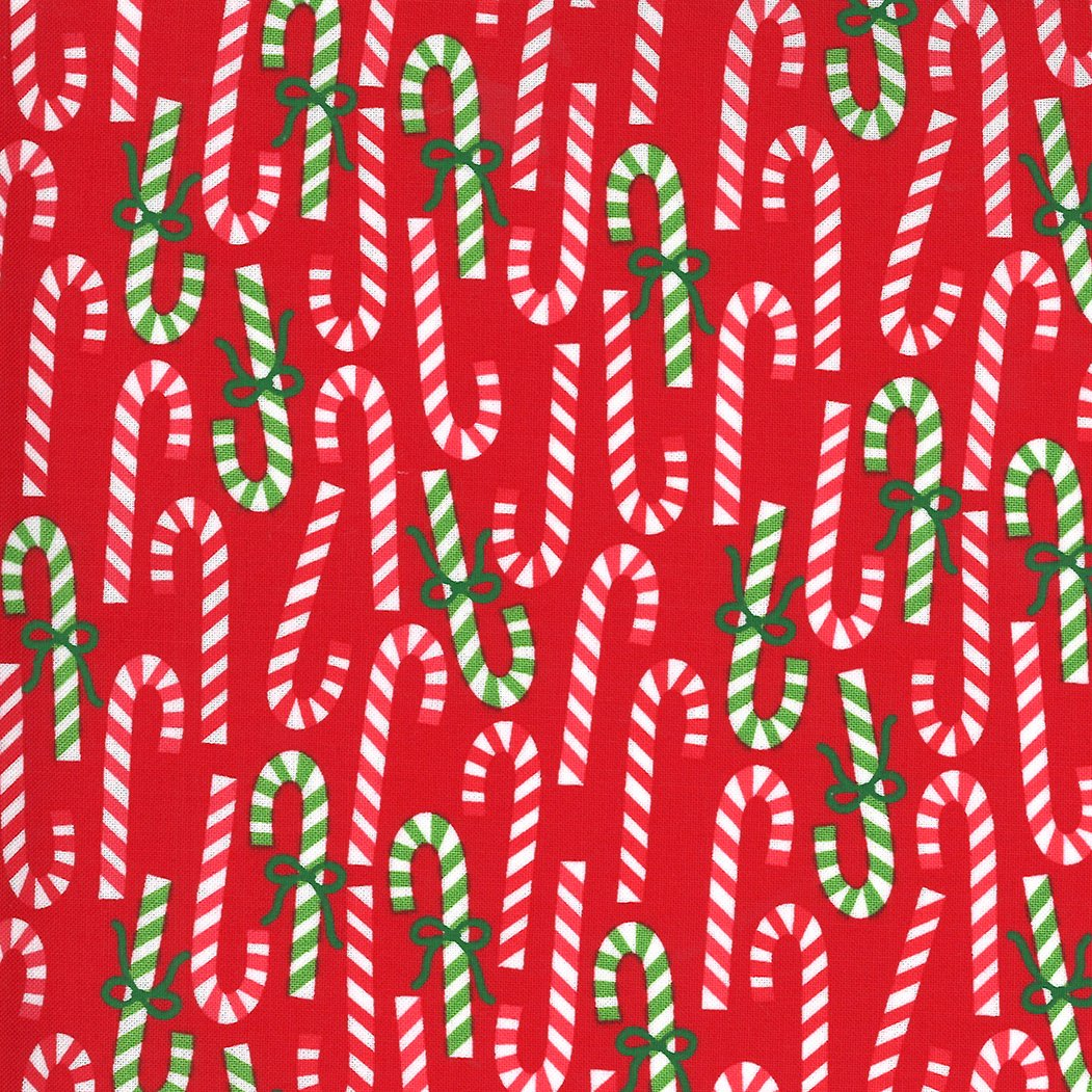 Merry and Bright 22402-11 Poinsettia Red