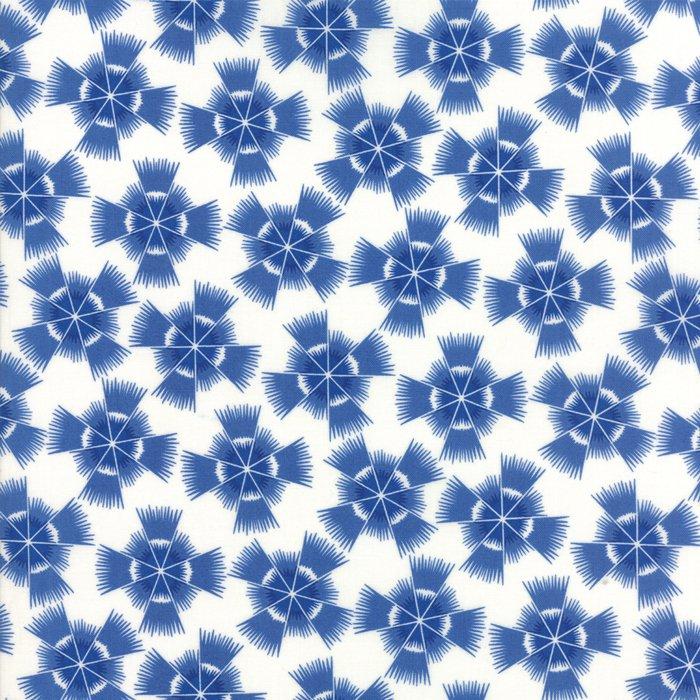 Feed Sacks True Blue 23302-21 Cornflower