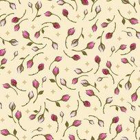 Rosa 23633-E Rosebuds Light Cream