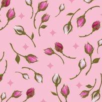 Rosa 23633-P Rosebuds Pink
