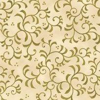 Rosa 23634-EF Scroll Cream/Olive