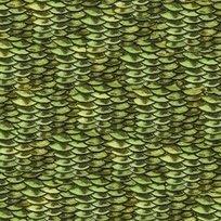 Reel It In 24035-G Dark Green Fish Scales